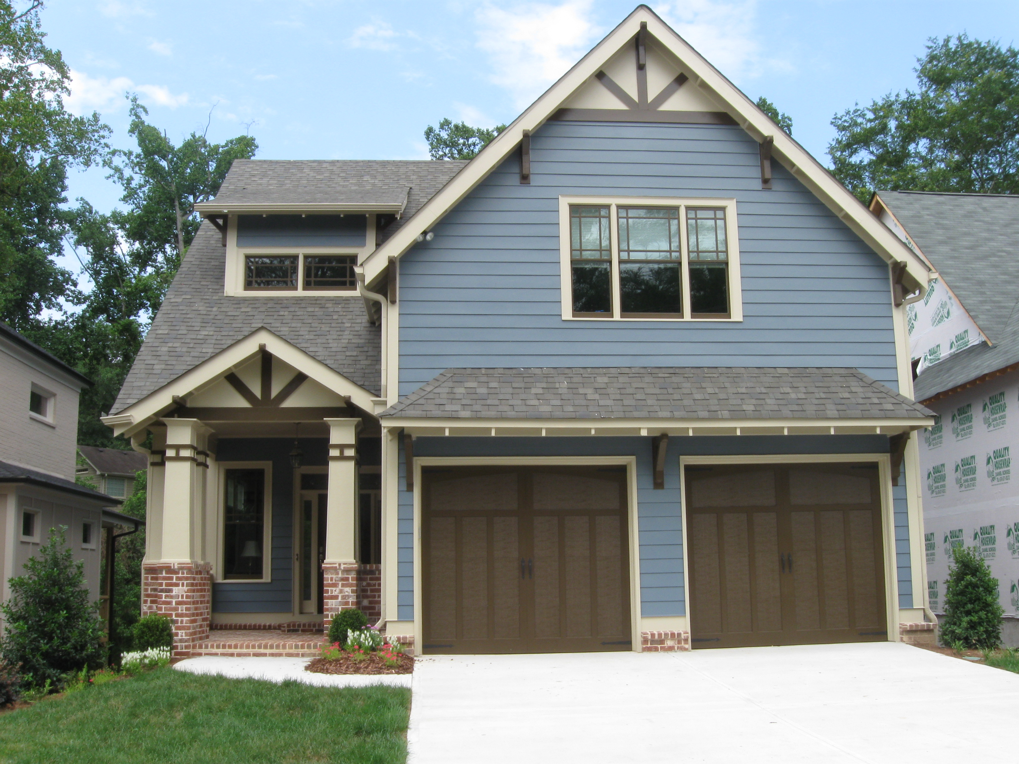 Best Exterior Paint Finish cedar shake idea for upper part of house lisa mende design best navy blue paint colors 8 of my favs Titan Painting A Job From Start To Finish
